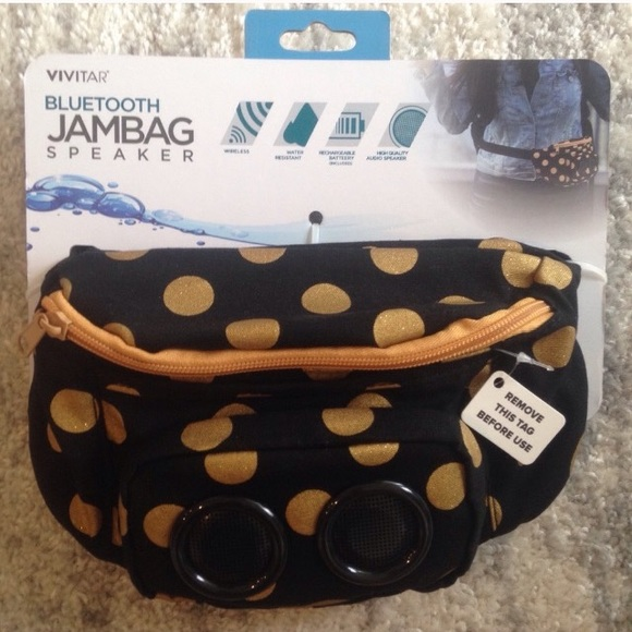 2e29b8f1ce70 Vivitar Jambag Wireless Bluetooth Speaker